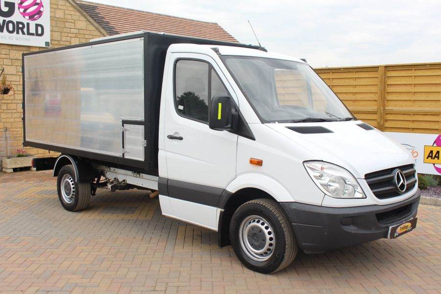 MERCEDES SPRINTER 313 CDI MWB NEW ALLOY ARBORIST TIPPER - 6031 - 10