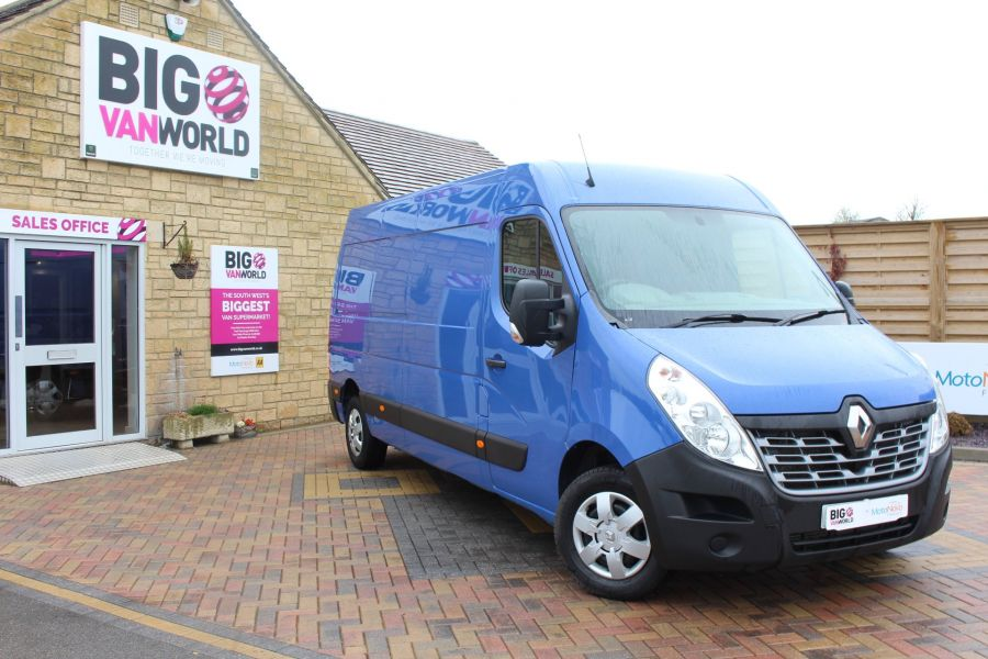 RENAULT MASTER LM35 DCI 135 BUSINESS PLUS ENERGY LWB MEDIUM ROOF FWD - 7655 - 2