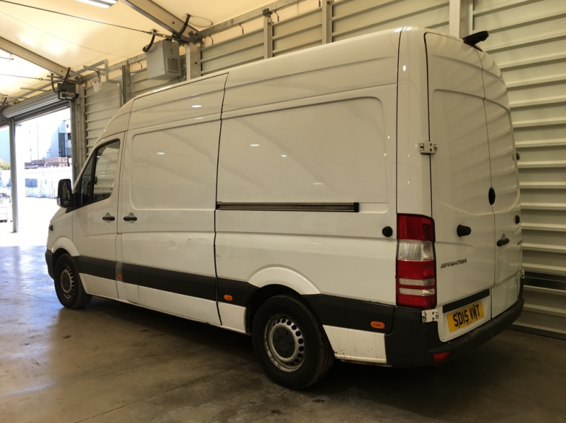 MERCEDES SPRINTER 313 CDI 129 MWB HIGH ROOF FRIDGE/FREEZER VAN WITH OVERNIGHT - 11409 - 4