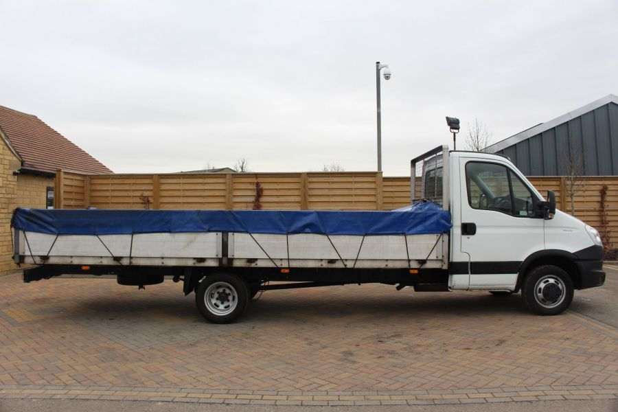 IVECO DAILY 35C13 4100 WB XLWB 20FT ALLOY DROPSIDE - 7302 - 4