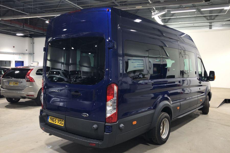 FORD TRANSIT 460 TDCI 155 L4H3 TREND 17 SEAT BUS HIGH ROOF DRW RWD - 12067 - 3