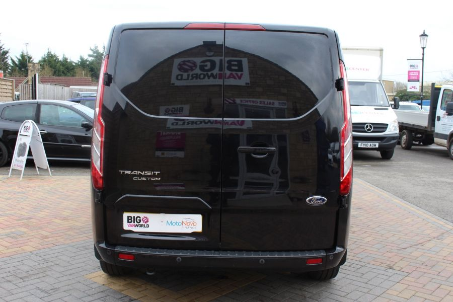 FORD TRANSIT CUSTOM 270 TDCI 155 L1 H1 LIMITED SWB LOW ROOF FWD - 7564 - 6