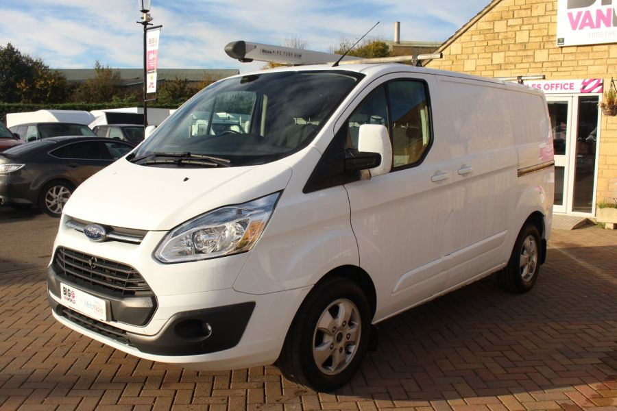 FORD TRANSIT CUSTOM 290 TDCI 125 L1 H1 LIMITED SWB LOW ROOF FWD - 6858 - 8