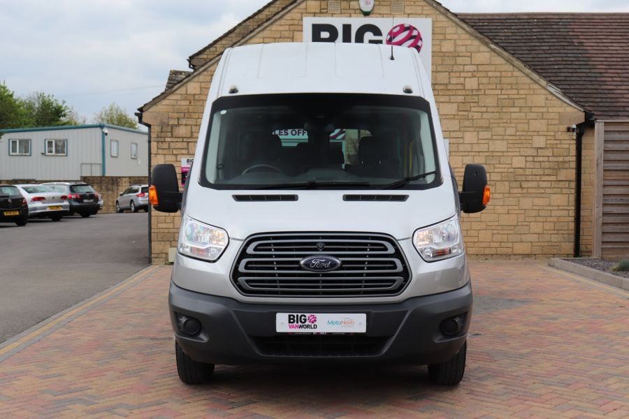 FORD TRANSIT 460 TDCI 155 L4H3 17 SEAT BUS HIGH ROOF DRW RWD - 11322 - 13