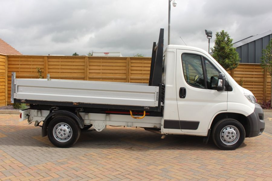 CITROEN RELAY 35 HDI 130 MWB L2 SINGLE CAB ALLOY TIPPER - 6202 - 12