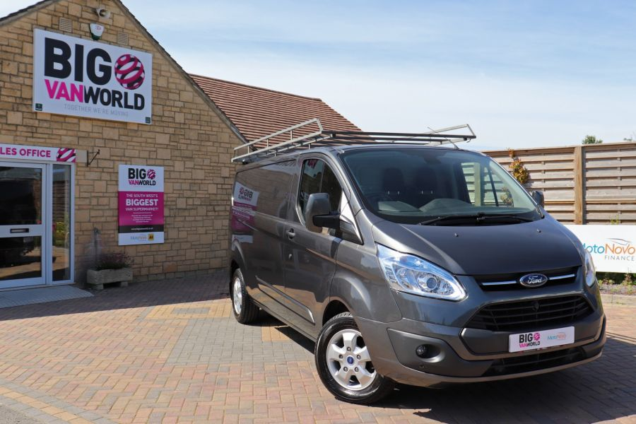 FORD TRANSIT CUSTOM 290 TDCI 125 L2 H1 LIMITED LWB LOW ROOF FWD - 9467 - 1