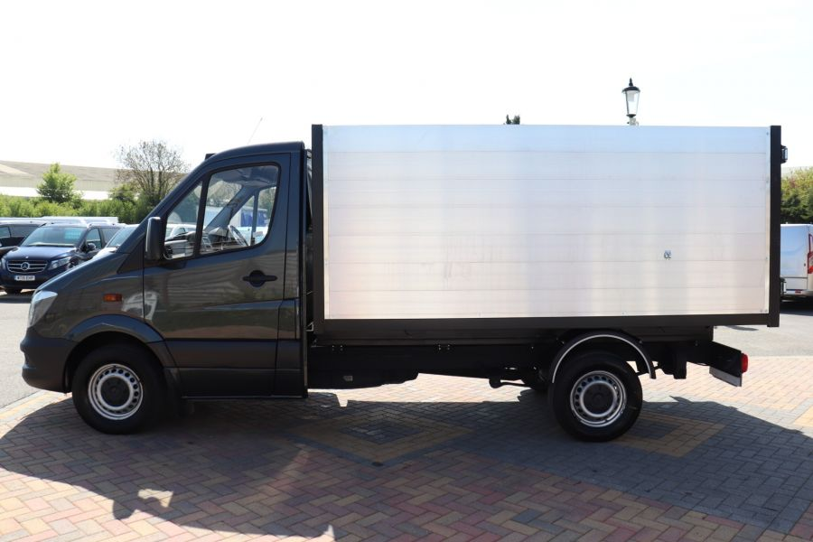 MERCEDES SPRINTER 313 CDI 129 SINGLE CAB NEW BUILD HIGH SIDED ALLOY TIPPER - 9672 - 19