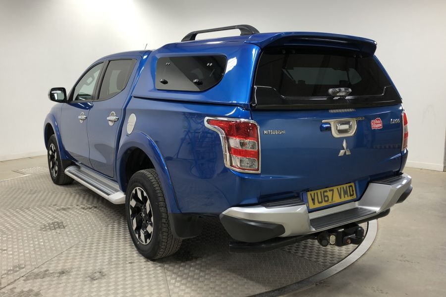 MITSUBISHI L200 DI-D 178 4WD BARBARIAN DOUBLE CAB WITH TRUCKMAN TOP  (13999) - 12243 - 6