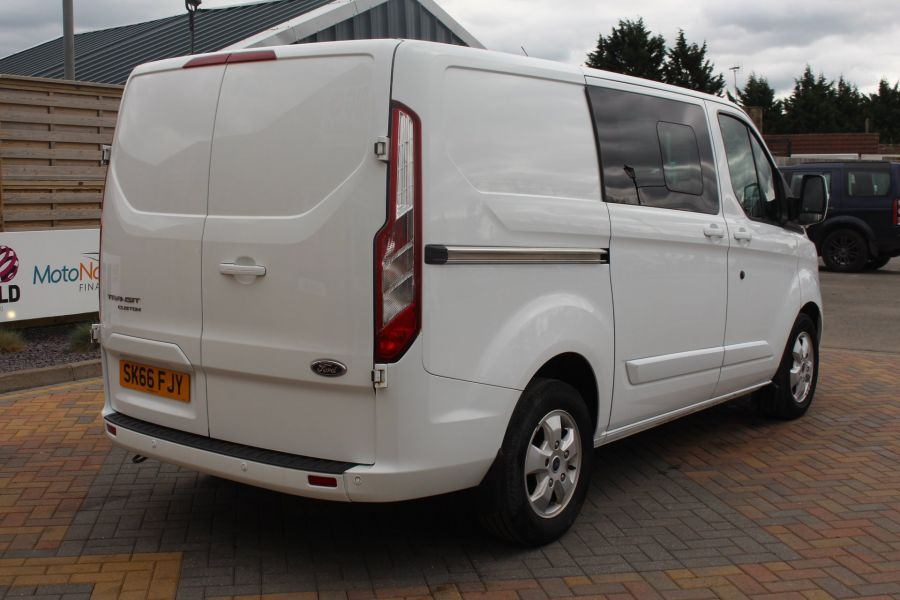 FORD TRANSIT CUSTOM 310 TDCI 170 L1 H1 LIMITED DOUBLE CAB 5 SEAT CREW VAN SWB LOW ROOF - 9234 - 5