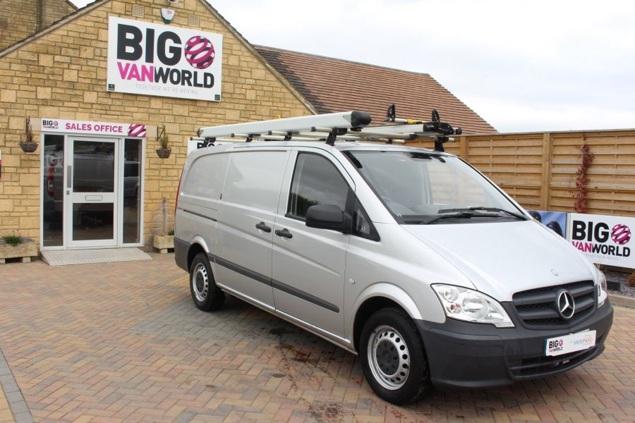 MERCEDES VITO 113 CDI 136 LWB LOW ROOF - 7671 - 3