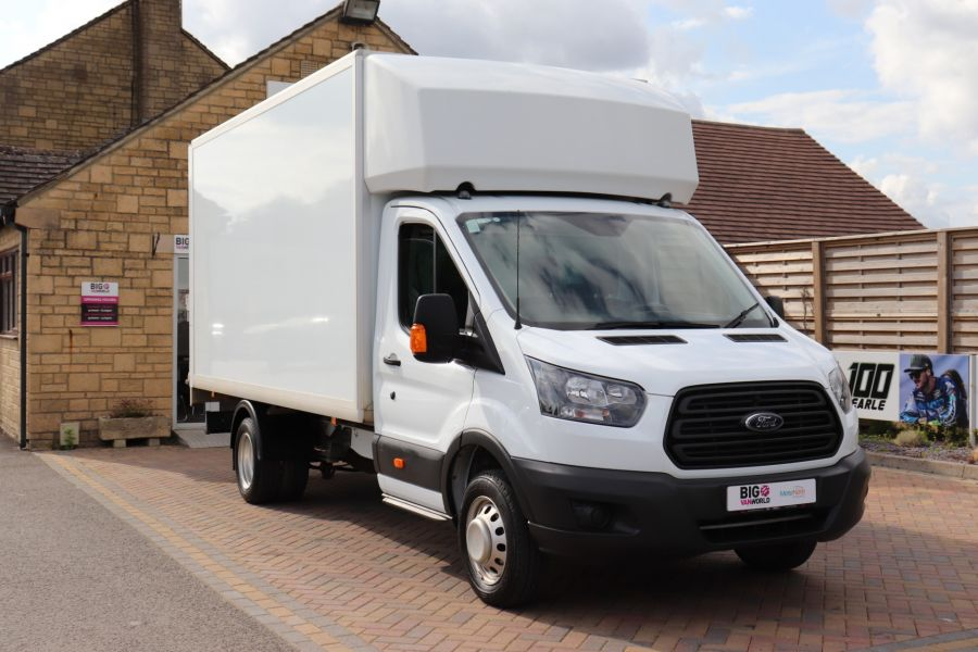 FORD TRANSIT 350 TDCI 170 L4 'ONE STOP' LUTON WITH TAIL LIFT DRW RWD  - 9531 - 2