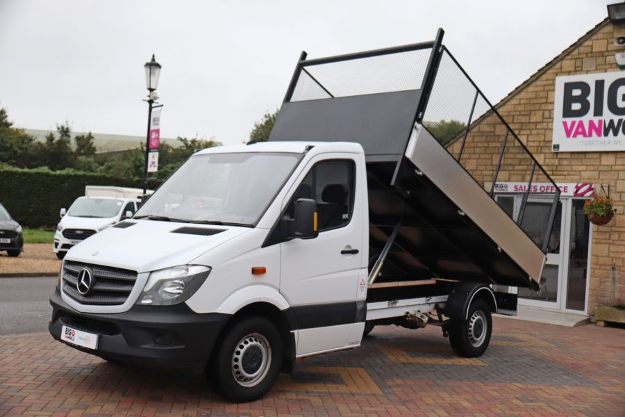 MERCEDES SPRINTER 313 CDI 129 MWB SINGLE CAB NEW BUILD ALLOY CAGED TIPPER - 9685 - 18