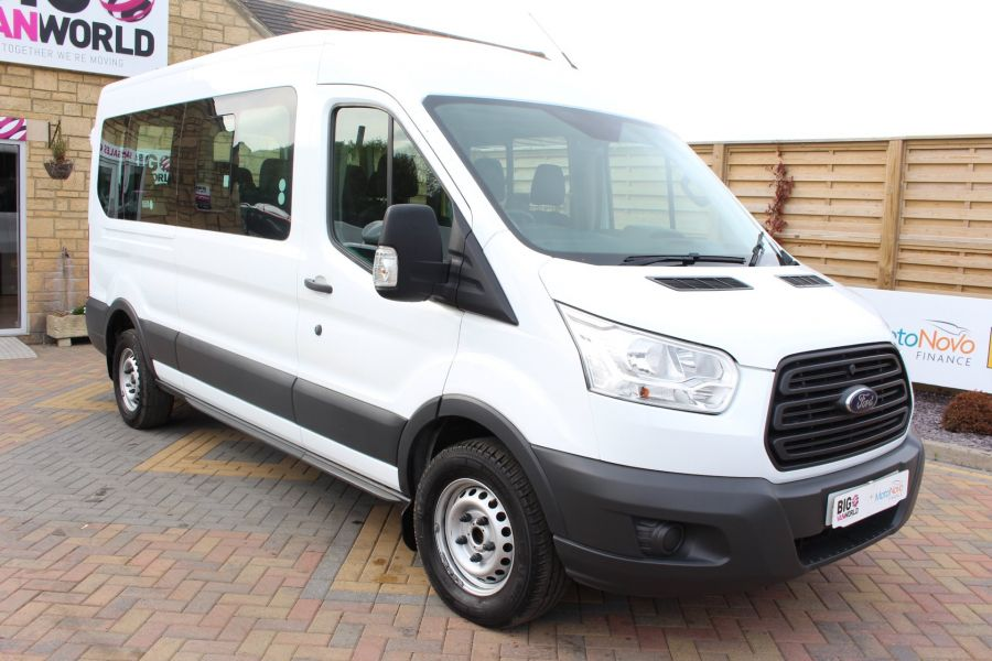 FORD TRANSIT 410 TDCI 125 L3 H2 15 SEAT BUS LWB MEDIUM ROOF - 6975 - 1