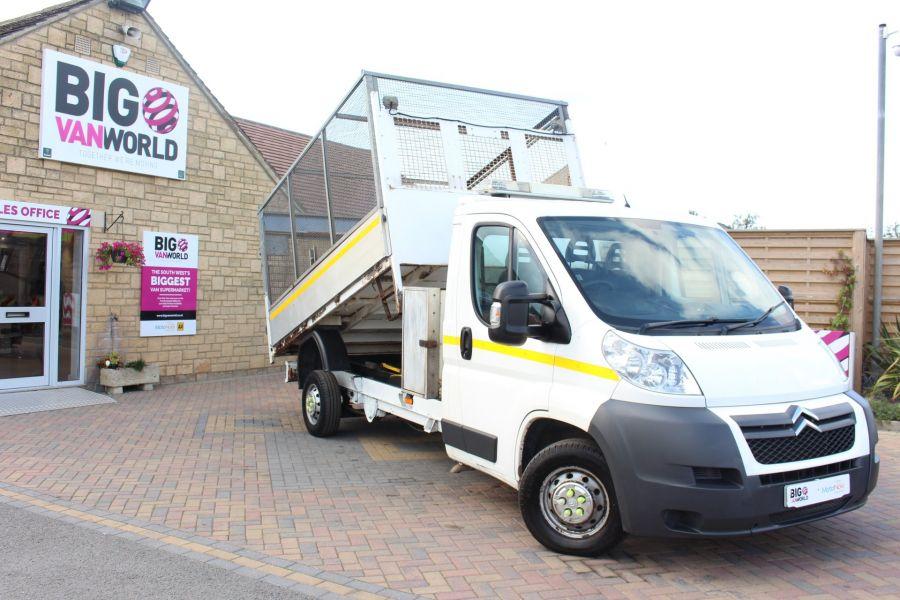CITROEN RELAY 35 HDI 130 L3 LWB ALLOY TIPPER WITH CAGED - 8122 - 2