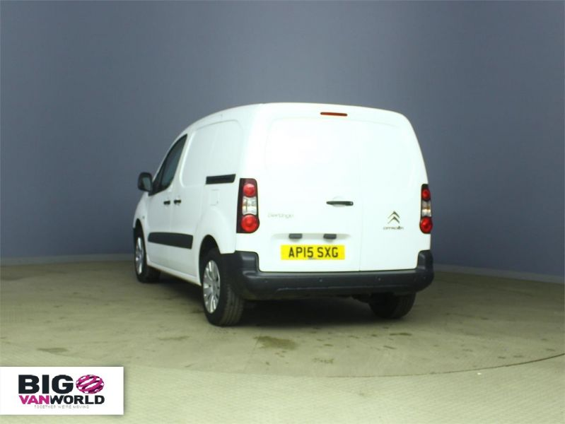 CITROEN BERLINGO 625 HDI 75 L1 H1 ENTERPRISE SWB LOW ROOF - 6663 - 4
