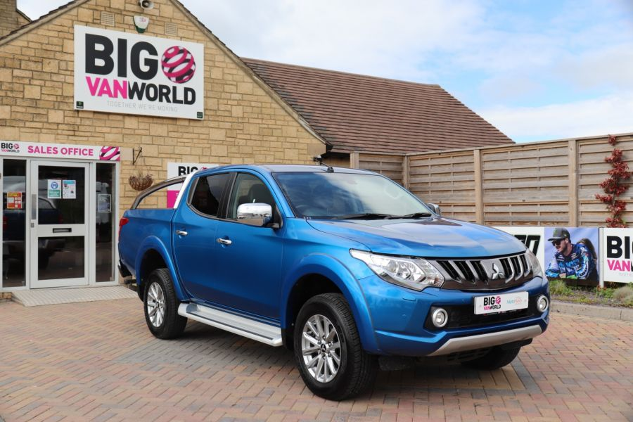 MITSUBISHI L200 DI-D 178 4WD WARRIOR DOUBLE CAB WITH ROLL'N'LOCK TOP - 11123 - 3