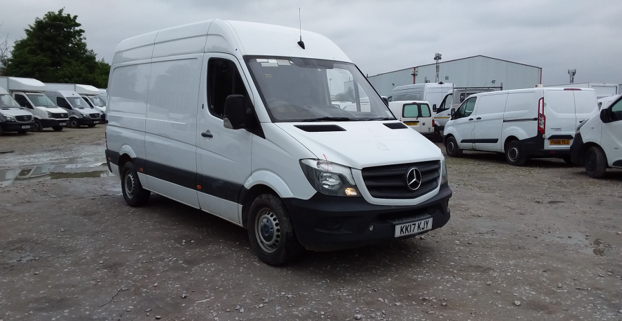 MERCEDES SPRINTER 314 CDI 140 MWB HIGH ROOF - 10876 - 1
