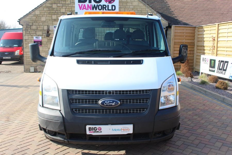 FORD TRANSIT 350 TDCI 155 LWB 6 SEAT DOUBLE CAB 'ONE STOP' ALLOY TIPPER DRW RWD - 7337 - 17