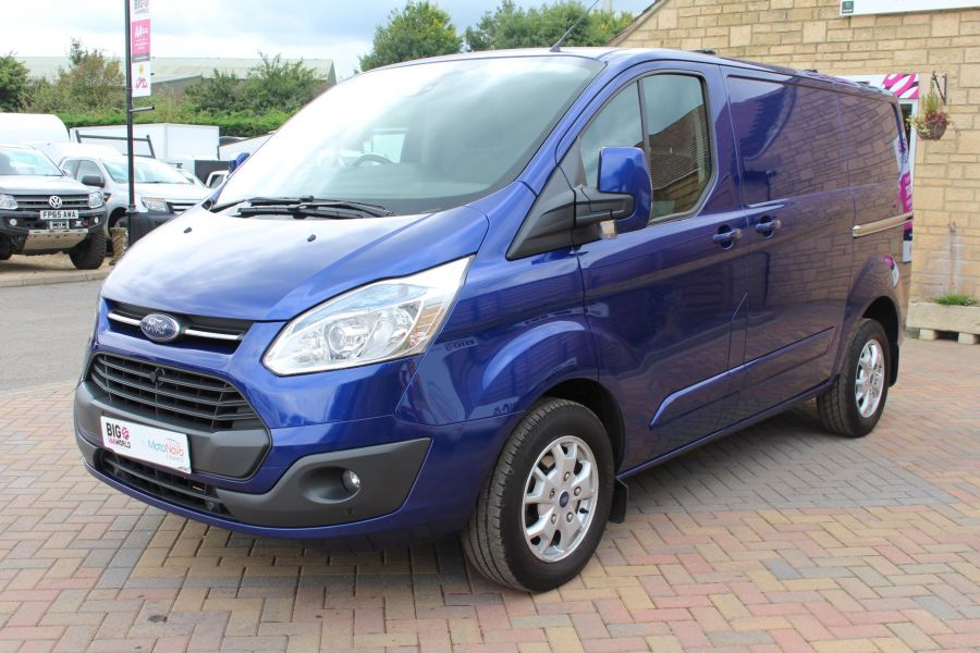 FORD TRANSIT CUSTOM 270 TDCI 155 LIMITED L1 H1 SWB LOW ROOF FWD - 6586 - 8