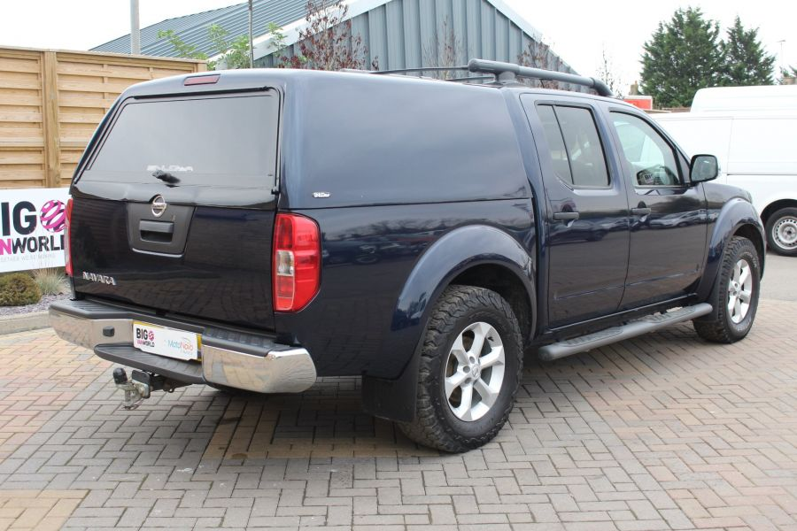 NISSAN NAVARA DCI 190 TEKNA CONNECT 4X4 DOUBLE CAB WITH TRUCKMAN TOP - 6786 - 5