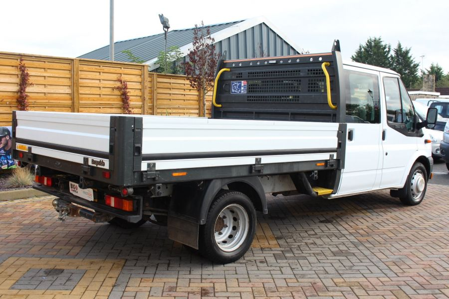 FORD TRANSIT 350 TDCI 125 LWB DOUBLE CAB 'ONE STOP' ALLOY DROPSIDE DRW RWD - 6761 - 5