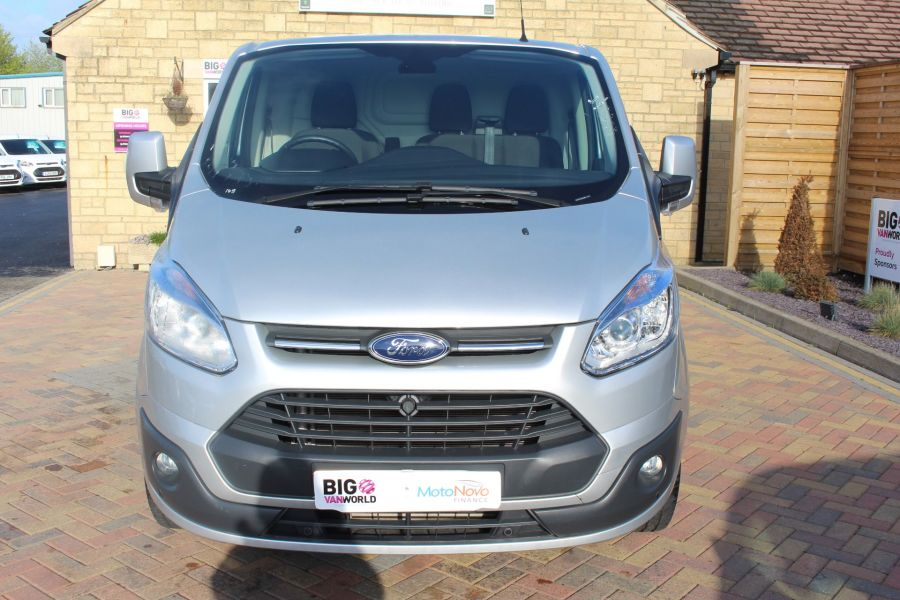 FORD TRANSIT CUSTOM 270 TDCI 125 L1 H1 LIMITED SWB LOW ROOF FWD - 7620 - 9