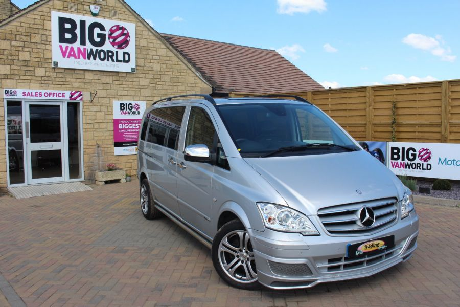 MERCEDES VITO 122 CDI SPORT-X DUALINER COMPACT 224 BHP SPECIAL EDITION - 6109 - 1
