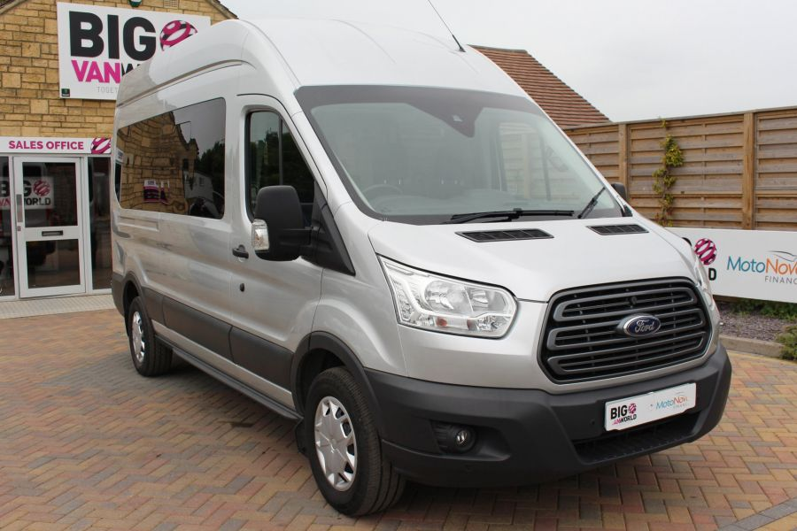 FORD TRANSIT 410 TDCI 155 L3 H3 TREND 15 SEAT BUS LWB HIGH ROOF RWD - 9126 - 3