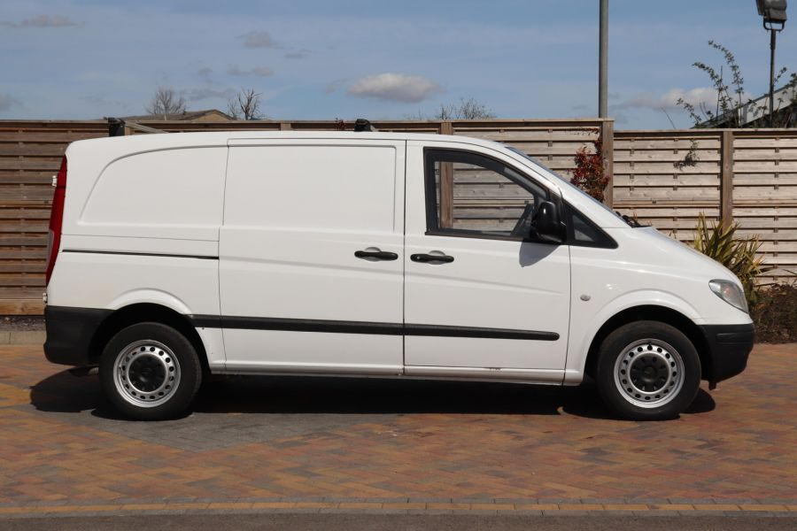 MERCEDES VITO 109 CDI 95 COMPACT SWB LOW ROOF - 10639 - 5
