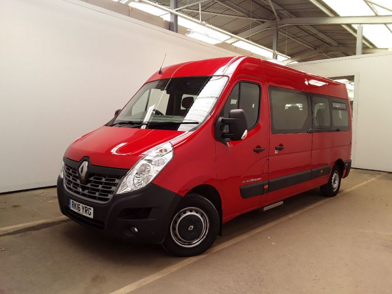 RENAULT MASTER LM39 DCI 165 BUSINESS ENERGY LWB 17 SEAT MINIBUS MEDIUM ROOF - 11353 - 1