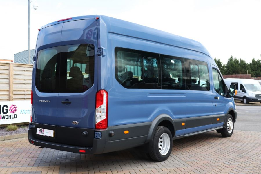 FORD TRANSIT 460 TDCI 155 L4H3 17 SEAT BUS HIGH ROOF DRW RWD - 10252 - 6