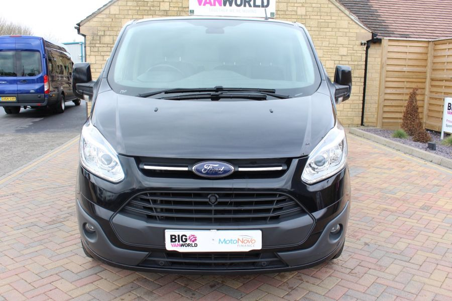 FORD TRANSIT CUSTOM 270 TDCI 155 L1 H1 LIMITED SWB LOW ROOF FWD - 7564 - 9