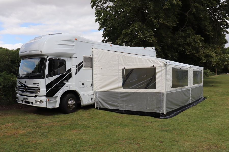 MERCEDES KRM MB1628 32FT 6 BERTH MOTORHOME / SPORTHOME  - 9783 - 79
