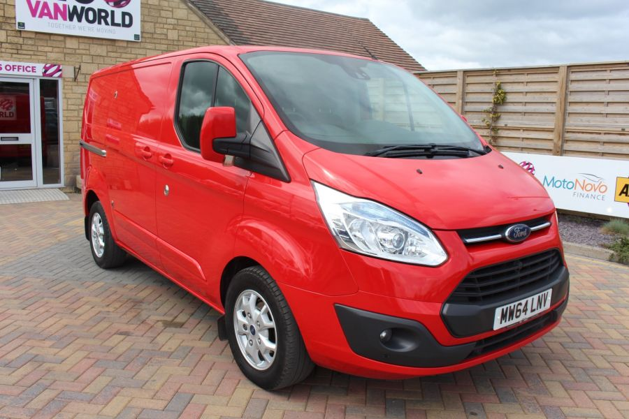 FORD TRANSIT CUSTOM 290 TDCI 125 L1 H1 LIMITED SWB LOW ROOF FWD - 9116 - 1