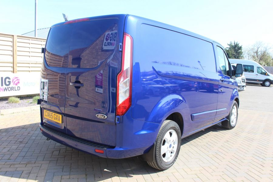 FORD TRANSIT CUSTOM 270 TDCI 155 L1 H1 LIMITED SWB LOW ROOF FWD - 9029 - 5