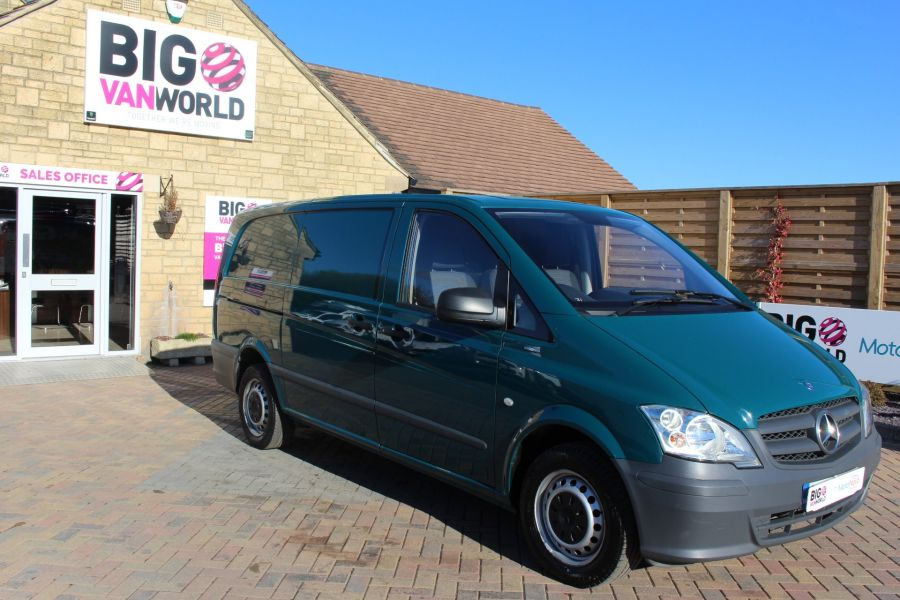 MERCEDES VITO 113 CDI 136 BLUEEFFICIENCY LWB LOW ROOF AUTO - 7315 - 3