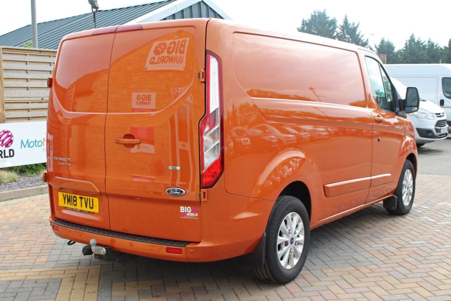 FORD TRANSIT CUSTOM 280 TDCI 130 L1 H1 LIMITED SWB LOW ROOF FWD - 9411 - 5
