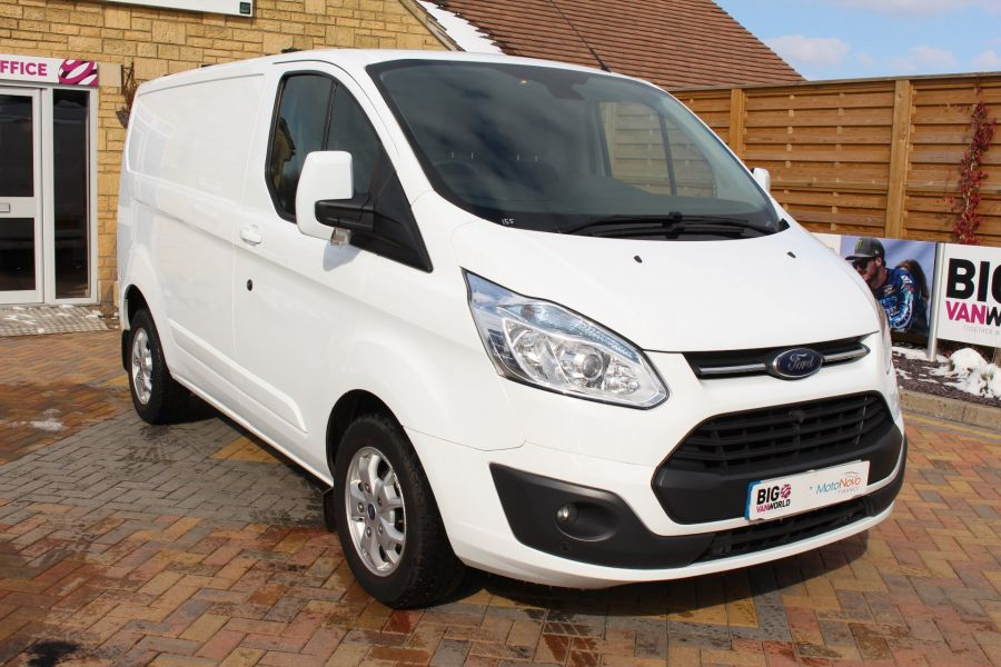 FORD TRANSIT CUSTOM 270 TDCI 125 L1 H1 LIMITED SWB LOW ROOF FWD - 7475 - 3