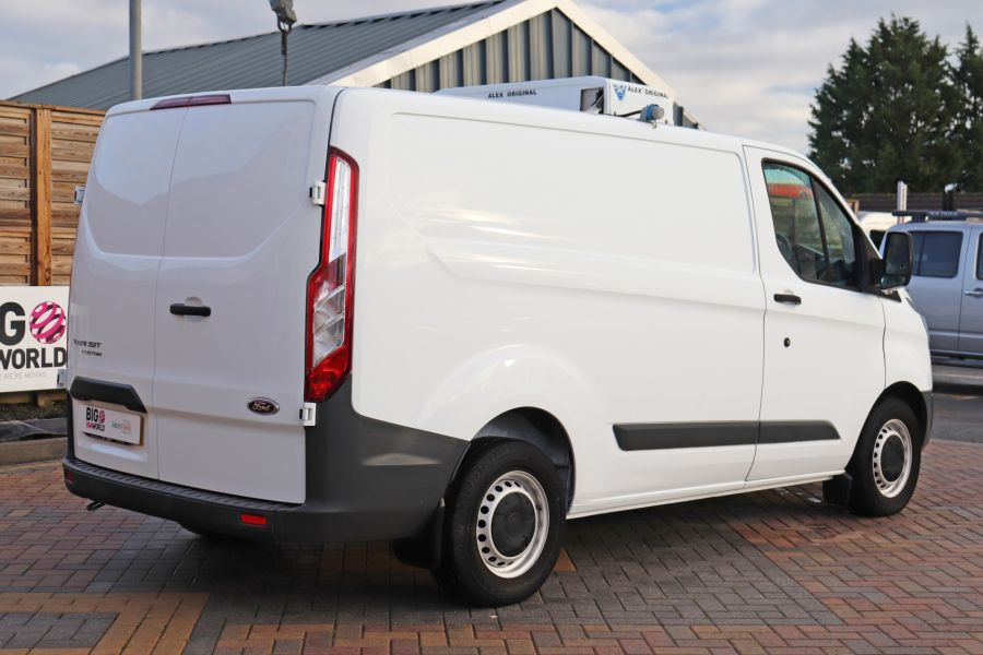 FORD TRANSIT CUSTOM 270 TDCI 105 L1H1 SWB LOW ROOF FRIDGE VAN WITH OVERNIGHT FWD - 11587 - 8
