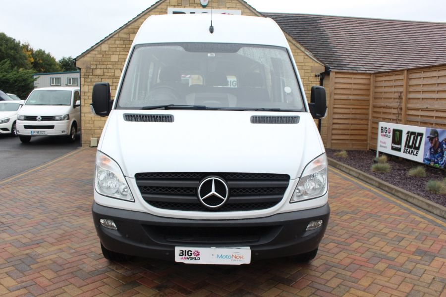MERCEDES SPRINTER 316 CDI 163 TRAVELINER LWB 15 SEAT BUS HIGH ROOF - 8100 - 9