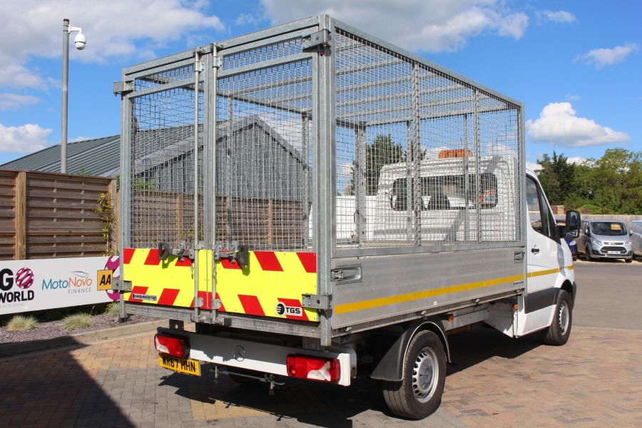 MERCEDES SPRINTER 314 CDI 140 SINGLE CAB CAGED ALLOY TIPPER - 9303 - 5