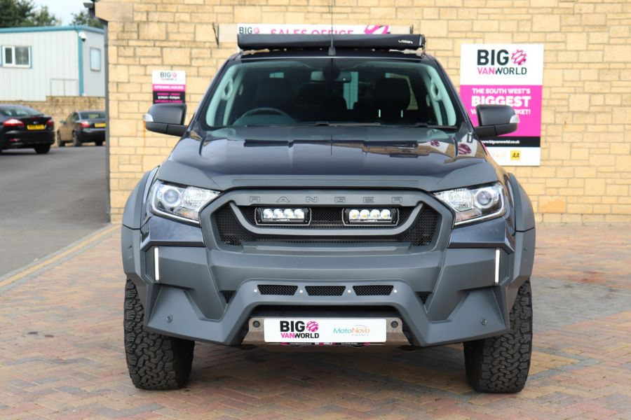 FORD RANGER TDCI 200 LIMITED EDITION 4X4 M-SPORT DOUBLE CAB WITH ROLL 'N' LOCK TOP - 9615 - 10