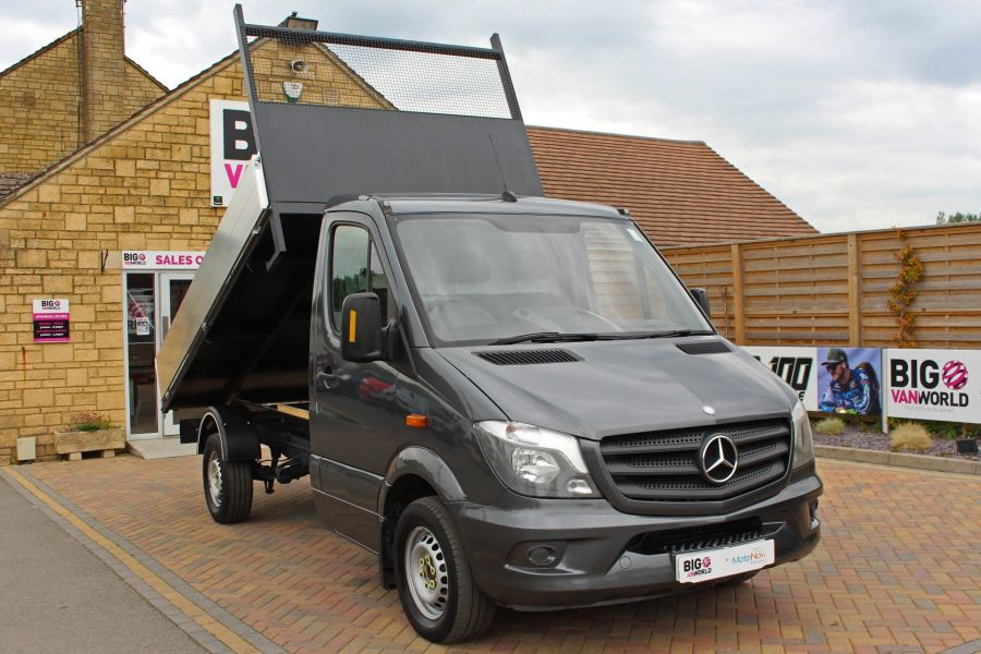 MERCEDES SPRINTER 313 CDI 129 MWB SINGLE CAB NEW BUILD ALLOY TIPPER - 9592 - 3