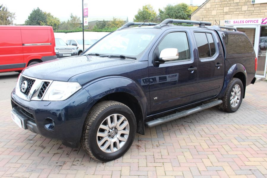 NISSAN NAVARA OUTLAW V6 DCI 231 4X4 DOUBLE CAB WITH TRUCKMAN TOP - 6769 - 8