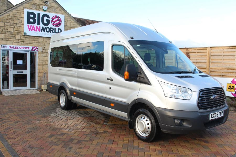 FORD TRANSIT 460 TDCI 155 TREND L4 H3 HIGH ROOF 17 SEAT BUS - 8517 - 3