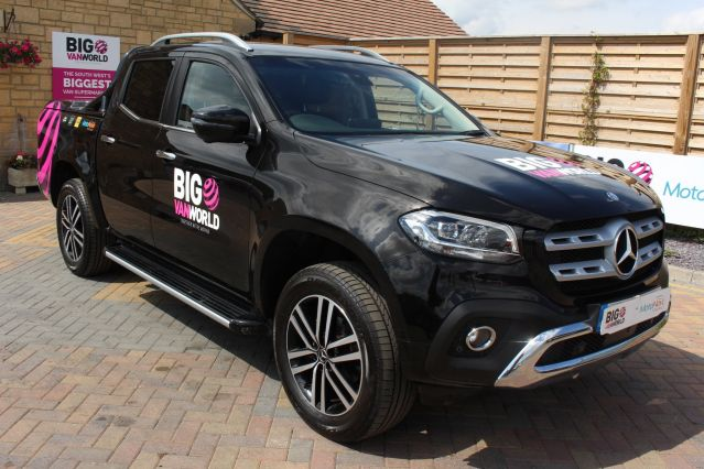 Used MERCEDES X-CLASS in Used Vans Swindon for sale