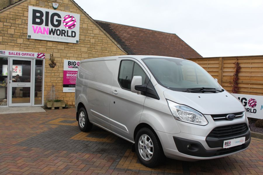 FORD TRANSIT CUSTOM 270 TDCI 125 L1 H1 LIMITED SWB LOW ROOF FWD - 7142 - 2