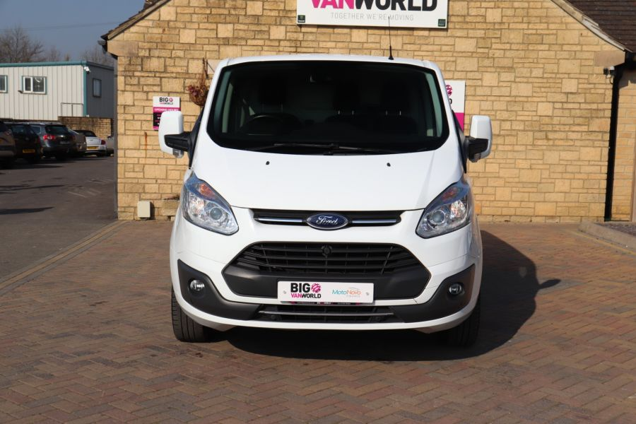 FORD TRANSIT CUSTOM 340 TDCI 130 L1H1 LIMITED SWB LOW ROOF FWD - 10566 - 11