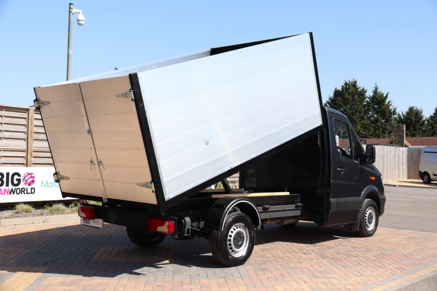 MERCEDES SPRINTER 313 CDI 129 SINGLE CAB NEW BUILD HIGH SIDED ALLOY TIPPER - 9672 - 6