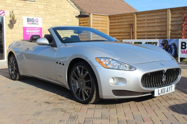 Used MASERATI GRANCABRIO in Used Cars Swindon for sale